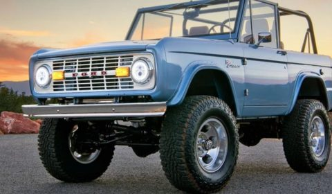 Omaze Ford Bronco Sweepstakes