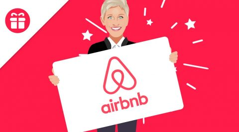 Ellen Airbnb Gift Card Giveaway