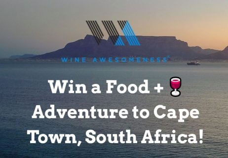 Wine Awesomeness Food and Wine Adventure Sweepstakes