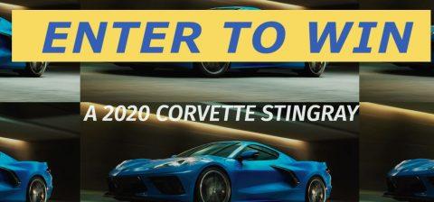 2020 Michelin Chevrolet Corvette Stingray Sweepstakes