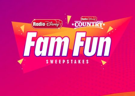 Radio Disney Fam Fun Sweepstakes