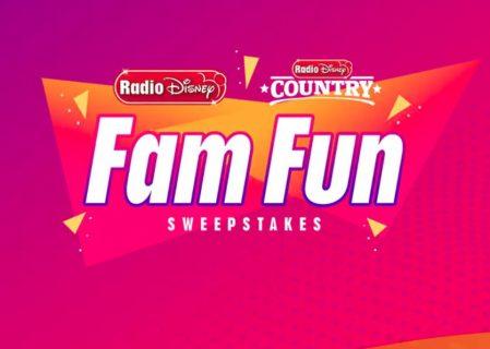 Radio Disney Fam Fun Sweepstakes