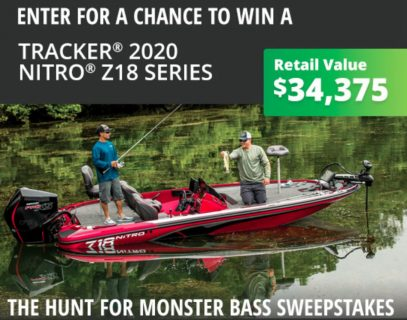 Bass Pro Hunt For Monster Bass Sweepstakes