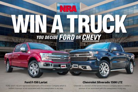 NRA Win This Truck Sweepstakes