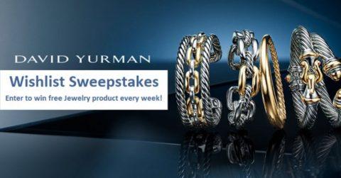 David Yurman 2020 Wishlist Sweepstakes