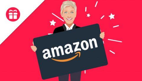 Ellen $500 Amazon Gift Card Giveaway
