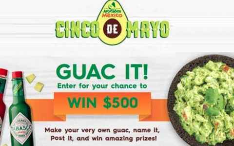 Avocados From Mexico Cinco De Mayo Sweepstakes