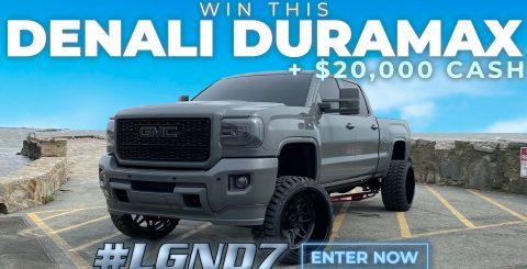 LGND 7 Truck Giveaway