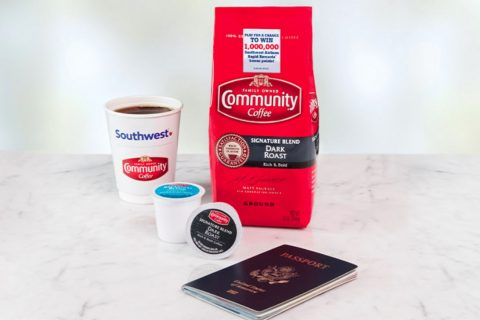 Community Coffee Fly More Instant Win Game & Sweepstakes