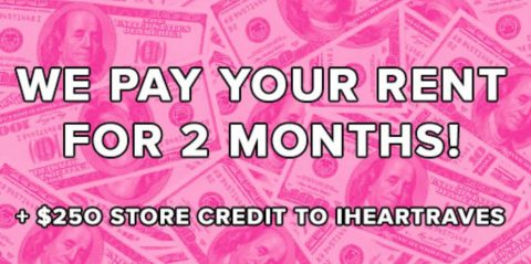 iHeartRaves Pay Your Rent Sweepstakes