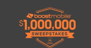 Boost Mobile $1,000,000 Sweepstakes