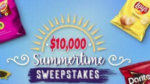 Tasty Rewards Summertime Sweepstakes