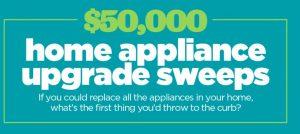 HGTV Magazine Home Appliance Upgrade Sweepstakes