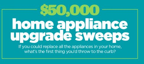 HGTV Magazine Home Appliance Upgrade Sweepstakes