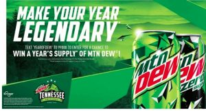 Pepsi Year of DEW Sweepstakes