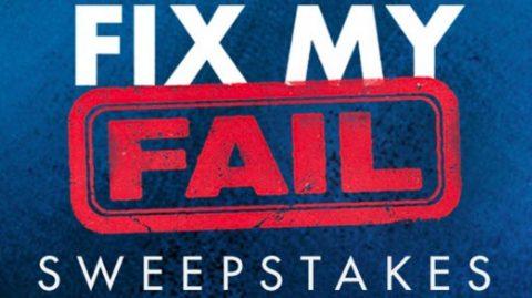HGTV Fix My Fail Sweepstakes