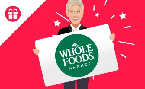 Ellen Whole Foods Gift Card Giveaway