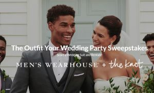 The Outfit Your Wedding Party Sweepstakes