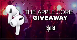 CNET's Apple Core Headphone Sweepstakes