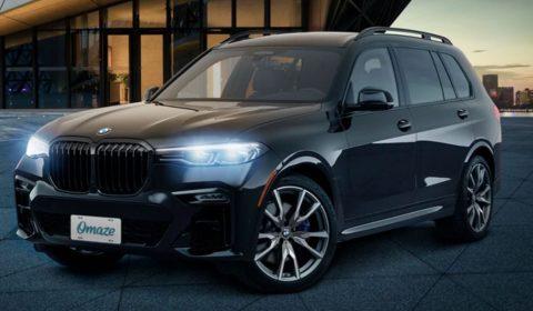 Omaze BMW X7 M50i Sweepstakes