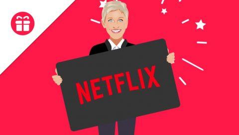 Ellen Netflix Membership Giveaway