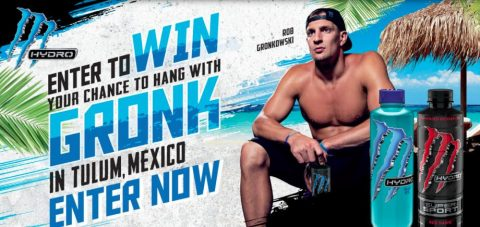 Monster Training Experience with Rob Gronkowski Sweepstakes