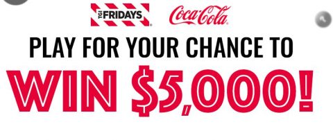 Win with Fridays Sweepstakes