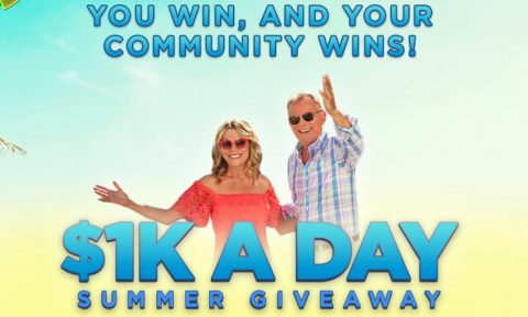 Wheel of Fortune's $1K A Day Summer Giveaway