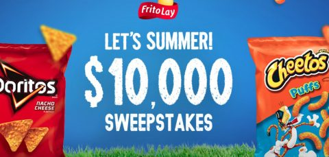 Frito-Lay Let's Summer $10,000 Sweepstakes