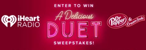 iHeartRadio Delicious Duet Sweepstakes