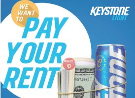 Keystone Light Free Rent Sweepstakes