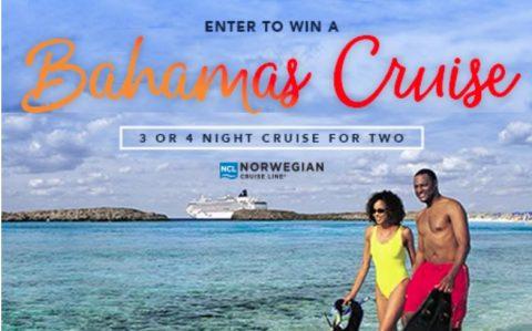 Norwegian Cruise Line Bahamas Cruise Sweepstakes