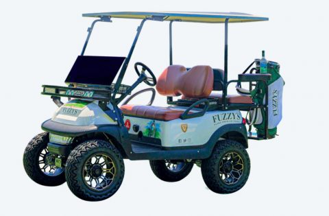 Win Fuzzy's Golf Cart Sweepstakes