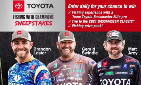 Bassmaster Toyota Fishing with Champions Sweepstakes