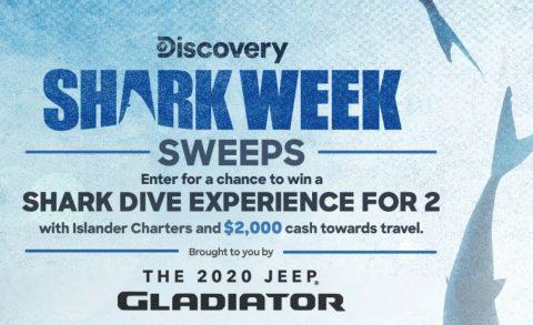 Discovery.com Shark Week Sweepstakes