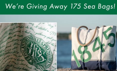 Poland Spring 175th Anniversary Sea Bags Sweepstakes