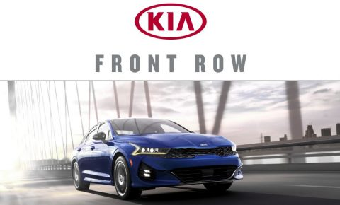 Kia Front Row K5 Launch Sweepstakes