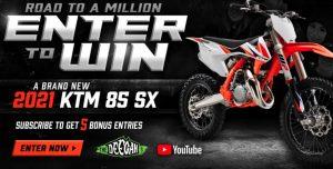 KTM 85 Motorcycle Sweepstakes