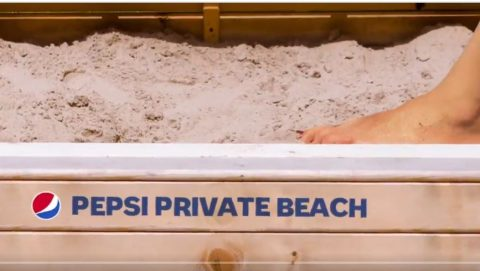 Pepsi Private Beach Sweepstakes