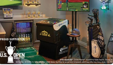 Corona Premier Golf At-Home Sweepstakes