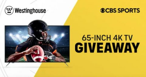 CBS Sports & Westinghouse Season Kick-off Sweepstakes