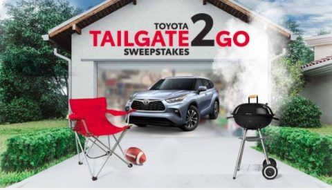Toyota Tailgate2Go Sweepstakes