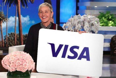 Ellen $150 Visa Gift Card Giveaway