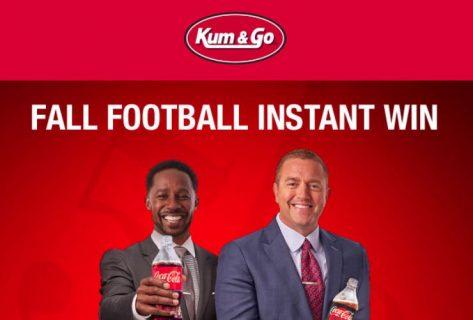 Coca-Cola Kum & Go Fall Football Instant Win Game
