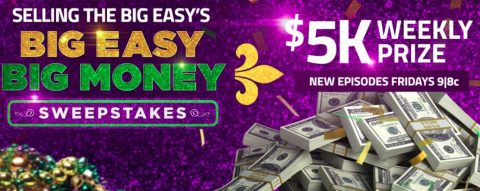 HGTV Big Easy Big Money Sweepstakes