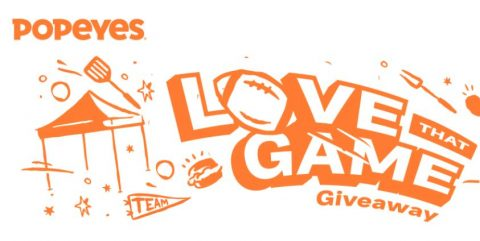Popeyes Love That Game Giveaway