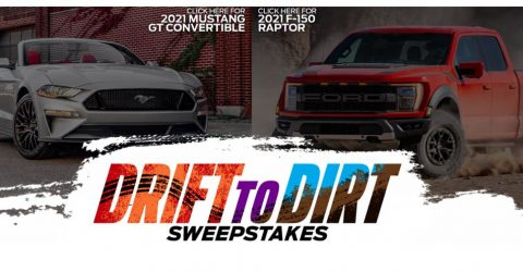 Ford Drift to Dirt 2021 Sweepstakes