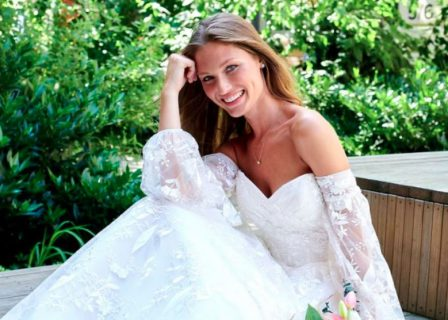 Bridal Guide Casablanca Bridal Cover Gown Sweepstakes