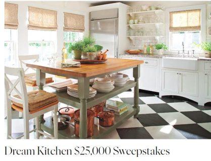 Martha Stewart Dream Kitchen $25,000 Sweepstakes