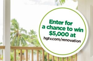HGTV Renovation Sweepstakes